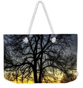 The Field Tree Hdr Weekender Tote Bag