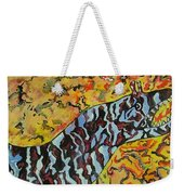 The Fierce Eel Weekender Tote Bag