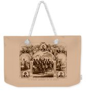 The Fifteenth Amendment And Its Results Weekender Tote Bag by War Is Hell Store