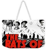 The Fighting Rats Of Tobruk  Theatrical Poster 1944 Color Added 2016 Weekender Tote Bag