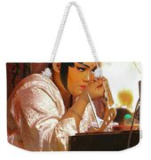 The Final Touch-chinese Opera Weekender Tote Bag