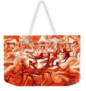 The Fire Dance Down Below Weekender Tote Bag