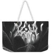 The Fire Inside - Water Lily - Bw Weekender Tote Bag