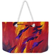 The Fire Of Life Weekender Tote Bag