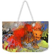 The Firecat Weekender Tote Bag