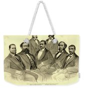 The First African American Senator And Representatives Weekender Tote Bag