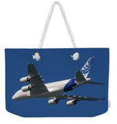 The First Airbus A380. Weekender Tote Bag