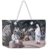 The First Shall Be The Last Weekender Tote Bag by Tissot