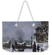 The First Snow, 1877 Weekender Tote Bag