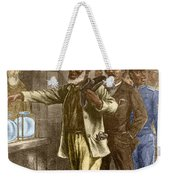 The First Vote 1867 Weekender Tote Bag by Photo Researchers