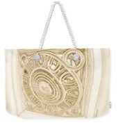 The Fish Eye Weekender Tote Bag