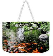 The Fish Pond At Thailand Weekender Tote Bag