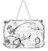 The Fisherman And His Wife Weekender Tote Bag