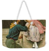 The Fishermans Wooing From The Pears Annual Christmas Weekender Tote Bag