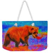 The Fishing Bear - Da Weekender Tote Bag