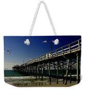 The Fishing Pier Weekender Tote Bag