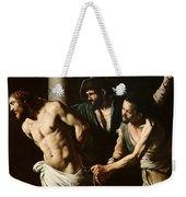 The Flagellation Of Christ Weekender Tote Bag by Caravaggio