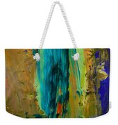The Flair Of The Flame Abstract Weekender Tote Bag