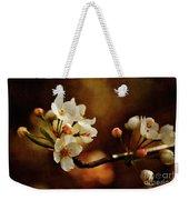 The Fleeting Sweetness Of Spring Weekender Tote Bag by Lois Bryan