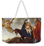The Flight Into Egypt Weekender Tote Bag