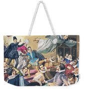 The Flight Of Father Dominic Weekender Tote Bag by English School