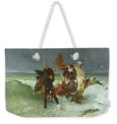 The Flight Of Gradlon Mawr Weekender Tote Bag by Evariste Vital Luminais