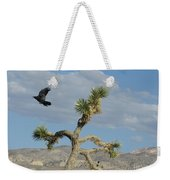 The Flight Of Raven. Lucerne Valley. Weekender Tote Bag