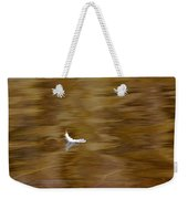 The Floating Feather Weekender Tote Bag