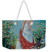 The Florist In A Red Kerchief Weekender Tote Bag