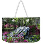 The Flower Bridge Weekender Tote Bag