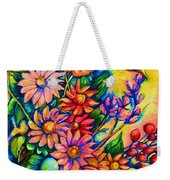 The Flower Dance Weekender Tote Bag