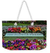 The Flower Field Weekender Tote Bag