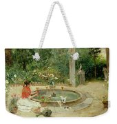 The Flower Garden Weekender Tote Bag