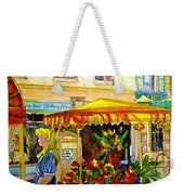 The Flowercart Weekender Tote Bag