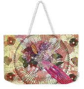The Flowerclock Weekender Tote Bag