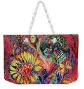 The Flowering Weekender Tote Bag