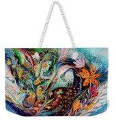 The Flowers And Sea Weekender Tote Bag