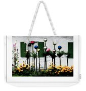 The Flowers And The Balls Poster Weekender Tote Bag
