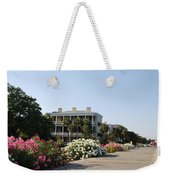 The Flowers At The Battery Charleston Sc Weekender Tote Bag