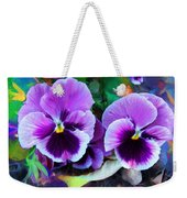 The Flowers Of Eleanor  Weekender Tote Bag