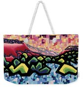 The Fluctuation Of Matter And Spirit Weekender Tote Bag