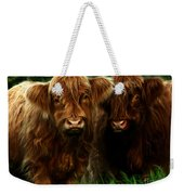 The Fluffy Cows Weekender Tote Bag