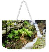 The Flume Gorge Lincoln New Hampshire Weekender Tote Bag