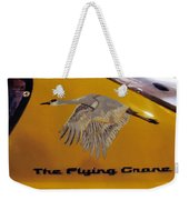 The Flying Crane Weekender Tote Bag