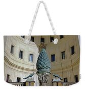 The Fontana Della Pigna In The Vatican City Weekender Tote Bag