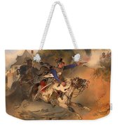 The Foraging Hussar 1840 Weekender Tote Bag