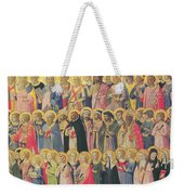 The Forerunners Of Christ With Saints And Martyrs Weekender Tote Bag