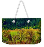 The Forest Echoes With Laughter Weekender Tote Bag