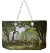 The Forest Of Fontainebleau Weekender Tote Bag by Leon Richet