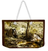 The Forgotten Watermill Wheel Weekender Tote Bag